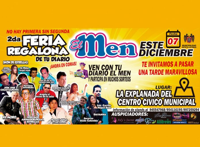 2da Feria El Men Regalón