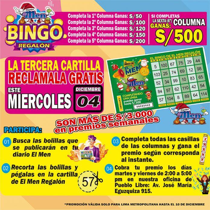 El Bingo Regalón Semana 03