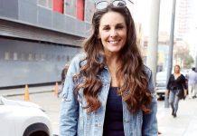 La conductora de espectáculos Rebeca Escribens