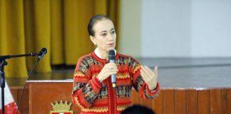 Ministra de Justicia y Derechos Humanos, Ana Teresa Revilla