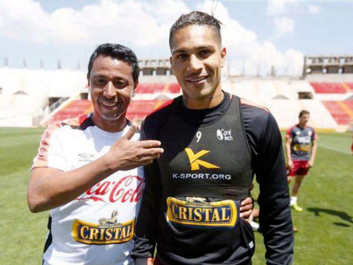 'Ñol' Solano y Paolo Guerrero