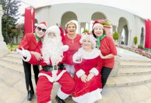 Adultos mayores celebraron fiesta navideña