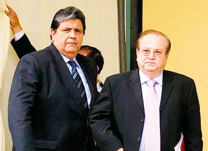 Alan Garcia y Luis Nava Guibert