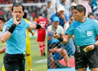 Arbitros para las finales de la Liga 1