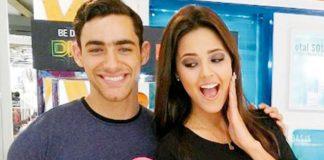 Austin Palao y Luciana Fuster