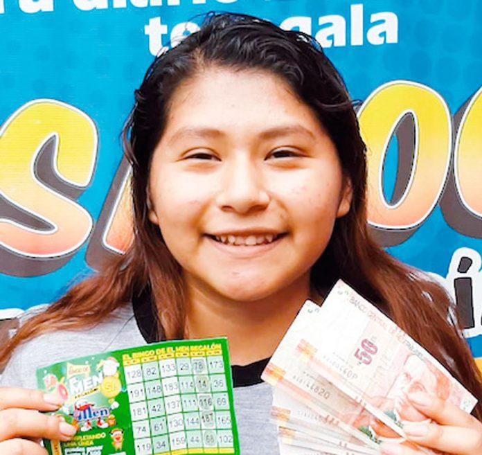 El Men si cumple con Flor María Sarmiento ganadora de 200 soles