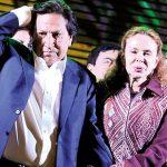 Eliane Karp y Alejandro Toledo