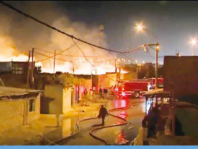 Incendio en el Callao