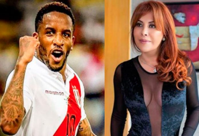 Jefferson Farfán Y Magaly Medina
