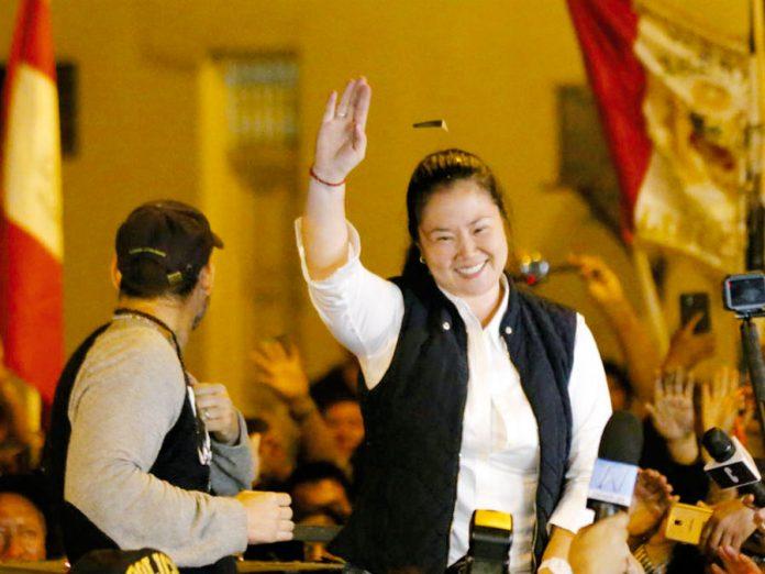 Lideresa de Fuerza Popular, Keiko Fujimori