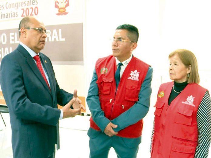 Luis Carrasco titular de Jurado Electoral Especial Lima Centro