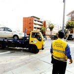Retiro de vehículos mal estacionados