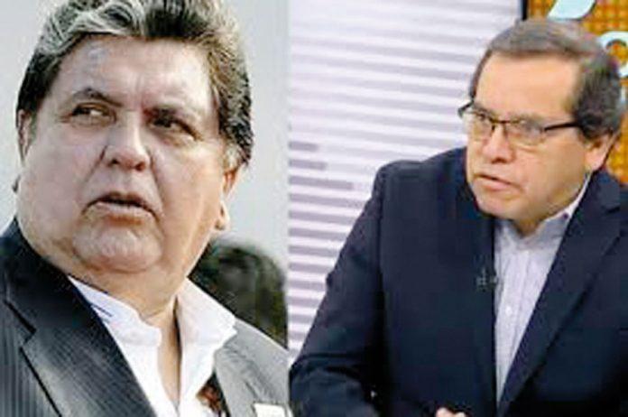 Ricardo Pinedo. exsecretario personal del expresidente Alan García