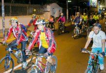 Bicicleteada nocturna