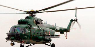 Helicópteros rusos Mi-171SHP