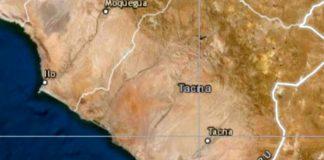 sismo de magnitud 5.5 remeció la región Tacna