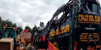 Accidente de bus interprovincial