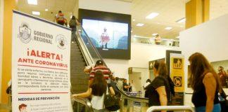 Aeropuerto Jorge Chávez refuerza control sanitario