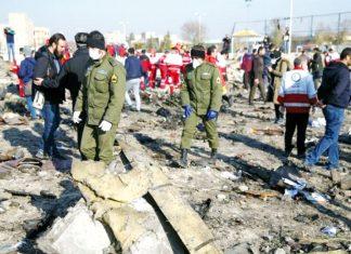 Avión ucraniano que se estrelló
