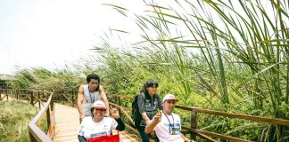 Circuito inclusivo para personas con discapacidad física, visual y auditiva en los Pantanos de Villa