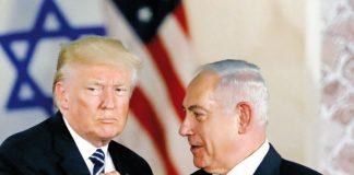 Donad Trump y Benjamin Netanyahu