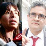 Fiscal Domingo Pérez se queja de Giuliana Loza