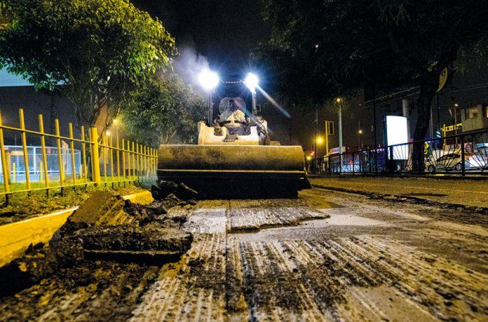 Iniciaron trabajos de mantenimiento en Av. Aramburú