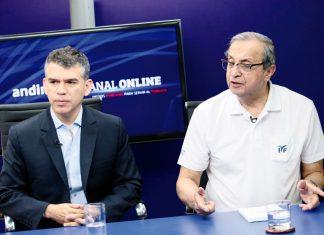 Julio Guzmán y Daniel Mora