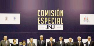 Juramentación de miembros electos de la Junta Nacional de Justicia