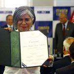María Zavala Valladares juró ayer como la sexta integrante de la Junta Nacional de Justicia