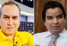 Mario Bryce y Julio Arbizú