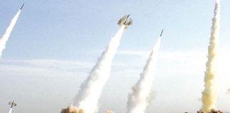 Ocho cohetes impactaron el último domingo una base aérea iraquí