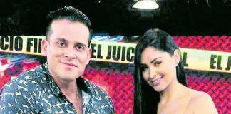 Pamela Franco y Christian Domínguez