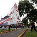 Retiran propaganda electoral instalada en lugares prohibidos