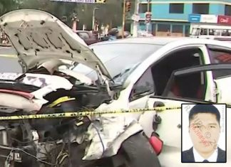 suboficial PNP Alan Ramos Quispe que atropelló a 5 personas
