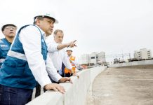 Alcalde Muñoz inspeccionó avance de tramo Escardó – Virú en Costa Verde