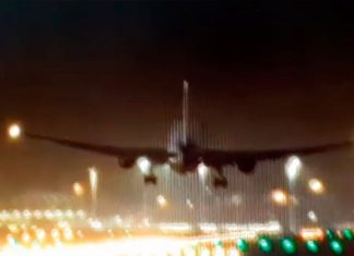 Aterrizaje exitoso de vuelo de Air Canada