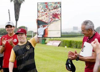 Daniel Luond, ilustre hincha de Universitario de Deportes