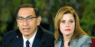 Martín Vizcarra y Mercedes Araoz