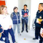 Ministra de salud supervisa riesgos de coronavirus en aeropuerto del Cusco