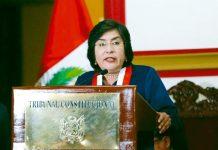 Presidenta del TC Marianella Ledesma