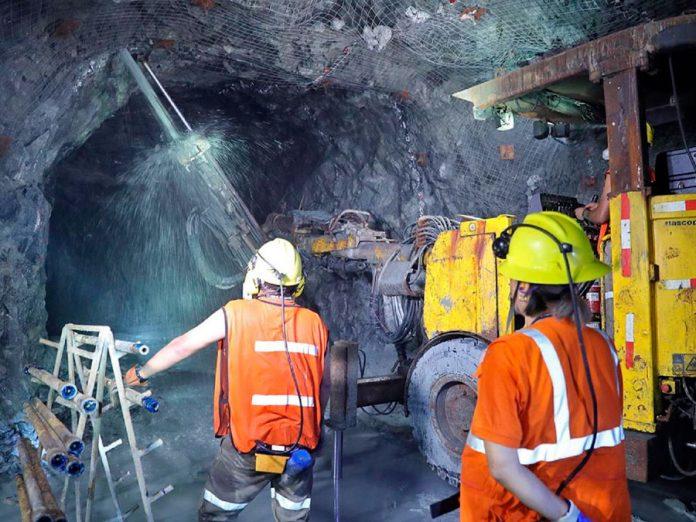 Produccion de cobre, plata y zinc