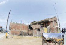 Víctimas por deflagración en Villa El Salvador