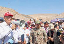 Vizcarra aseguró que atenderá emergencia climática en Tacna