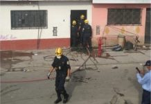 Controlan incendio durante cuarentena en Huerta Perdida