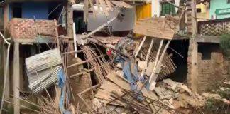 Desborde de río destroza viviendas