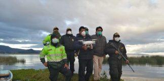 Puno utiliza drones para reforzar vigilancia en fronteras