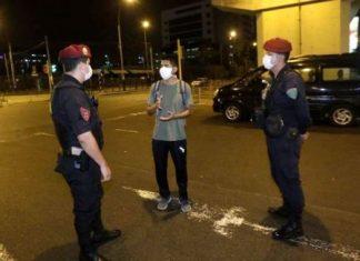 Detenidos por desacatar toque de queda