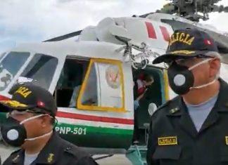 Utilizarán helicópteros para ubicar a los que no cumplen cuarentena