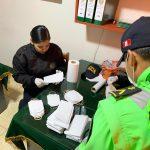 Policías realizan loable labor a favor de los más necesitados
